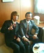 アサノ知事とフジノ