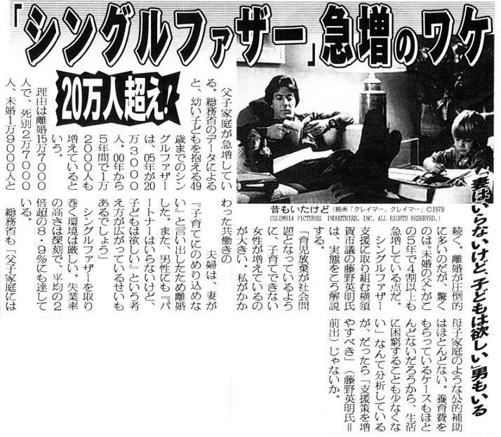 2007年6月6日・日刊ゲンダイより