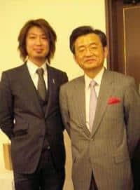 浅野史郎さんとフジノ