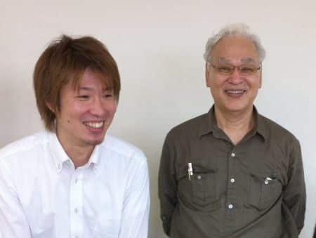8年前の、石母田衆さんとフジノ