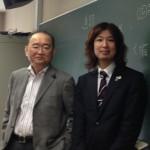 2012年のアサノ先生とフジノ