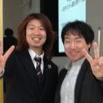 増川ねてるさんとフジノ