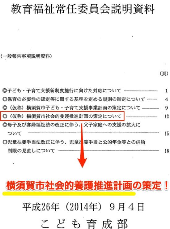教育福祉常任委員会・一般報告・説明資料より