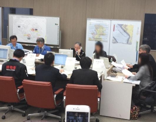 横須賀市と米海軍をはじめ、諸官庁の協力のもとで日米合同防災訓練を行ないました