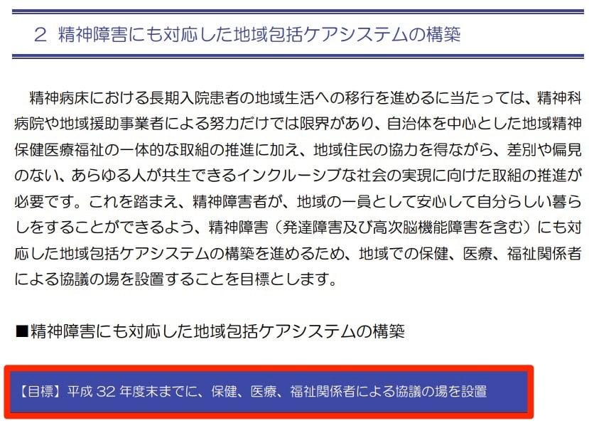 「第5期横須賀市障害福祉計画」の5つの数値目標の2つ目でした