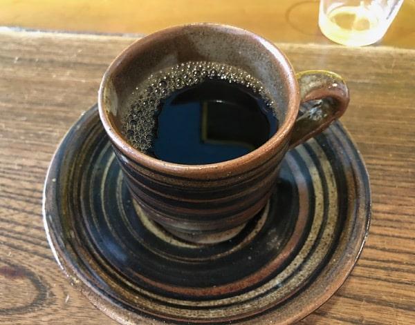 カフェ「cotonoha+」さんのコーヒー