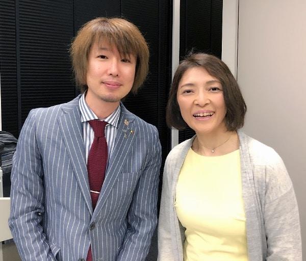 勝間和代さんとフジノ