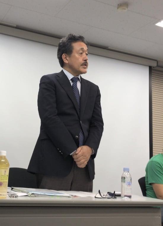 大島巌共同代表より開会あいさつ