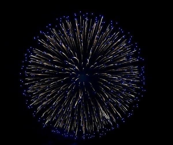 横須賀開国花火大会2018の様子