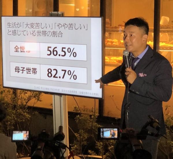 山本太郎議員による街頭演説会