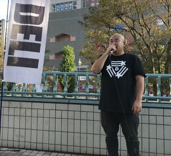 脱被曝の4年間の活動を伝えるDELI議員