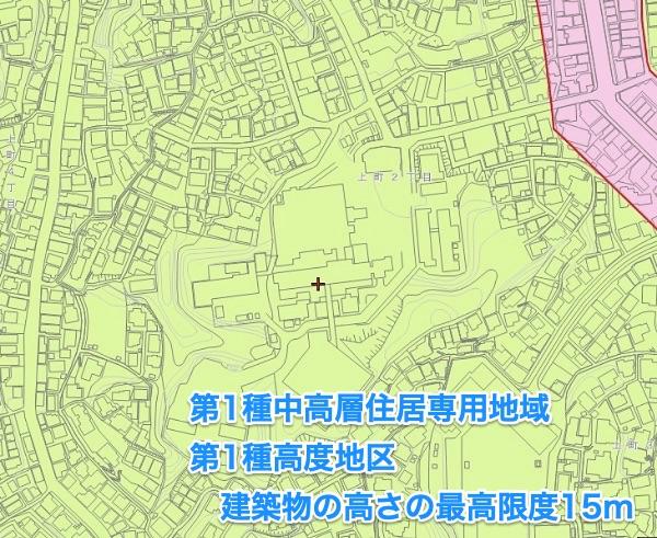 2004年以降、15m以上の建物は緑色ゾーンには建てられなくなりました