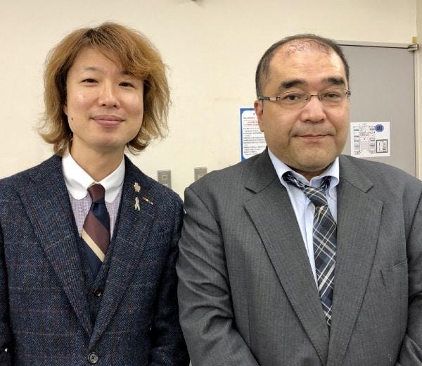 湯村寧先生とフジノ