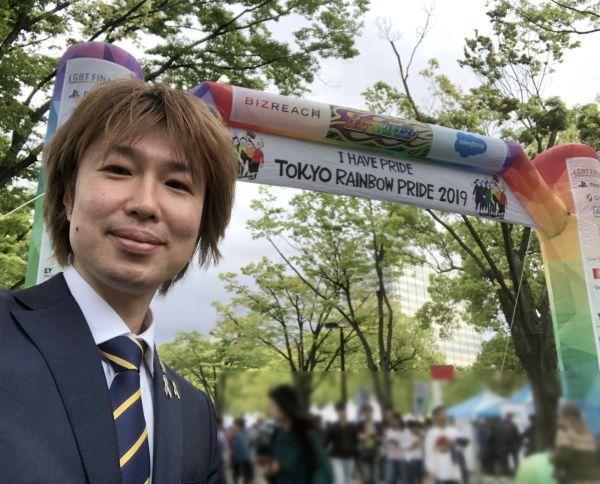 代々木公園を会場にした「東京レインボープライド2019」