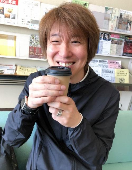 コーヒー熱い!
