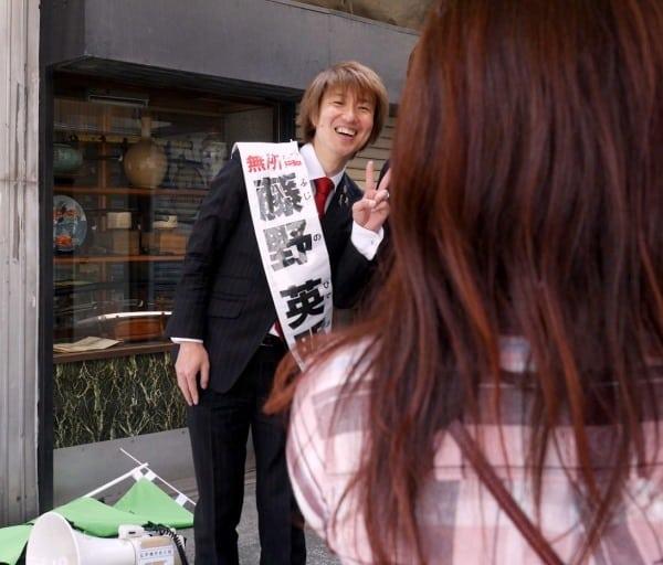街角で「一緒に写真を撮って下さい」と言われて嬉しかったです