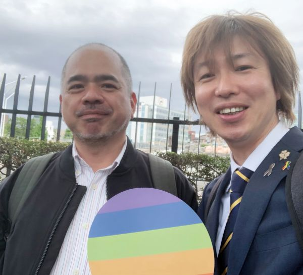 砂川秀樹さんとフジノ