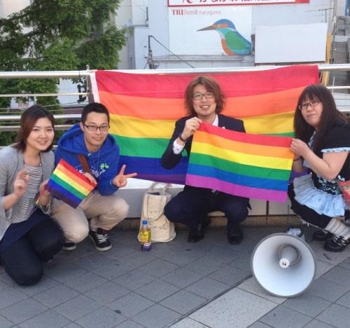 2014年の横須賀初開催の様子