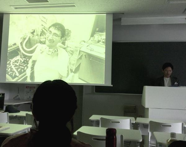 鹿野靖明さんと渡辺一史さん