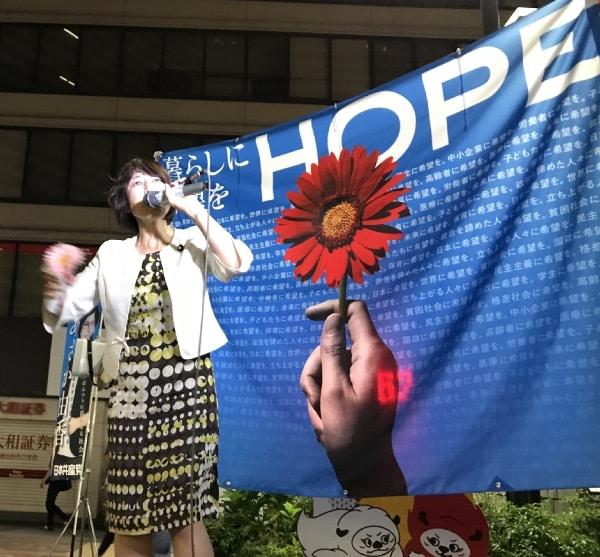 田村智子副委員長のスピーチ