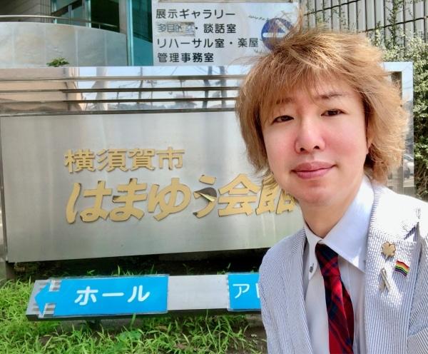 第36回横須賀市中学校演劇発表会の会場にて